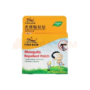 Пластыри от комаров Tiger Balm Mosquito Repellent Patch (10шт)